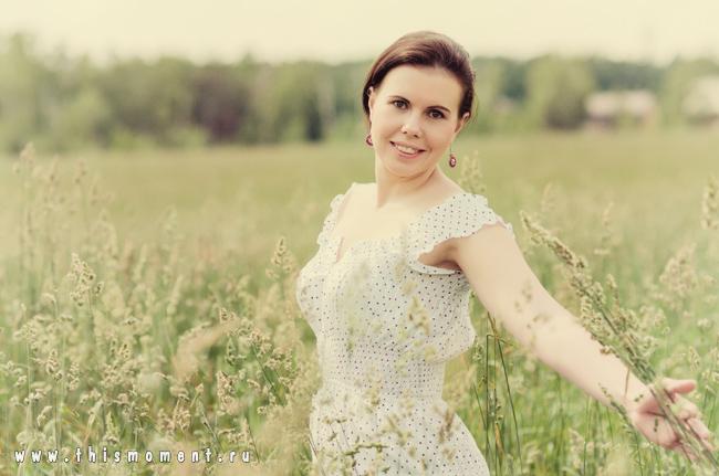 Фото в поле