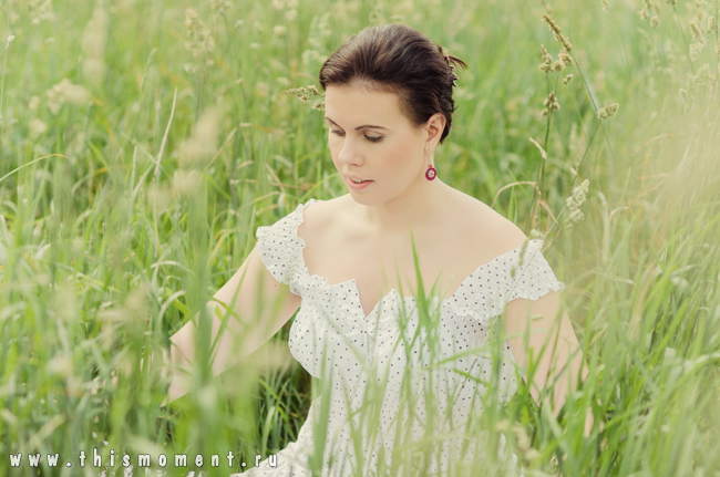 Фото в траве