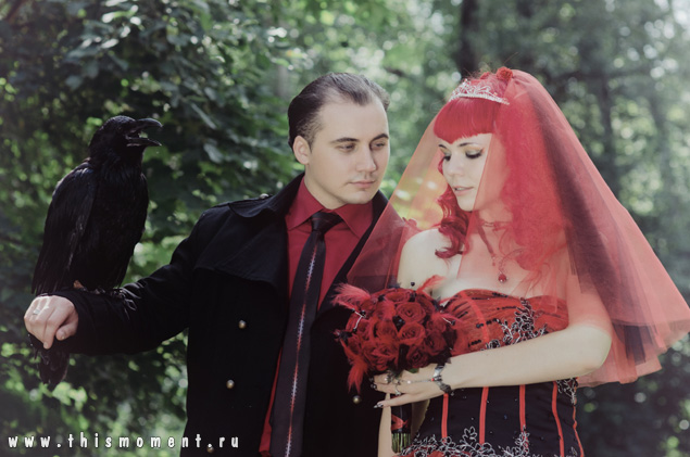 Ворон на свадьбе