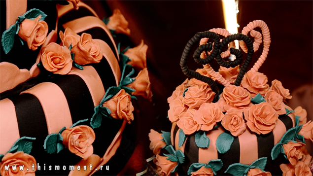 Свадебный торт готический