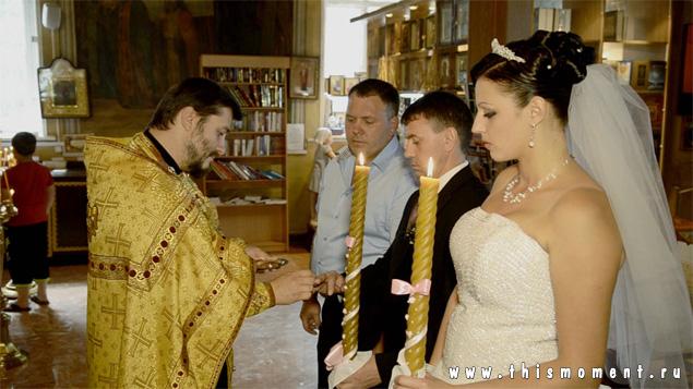 Венчание обмен кольцами