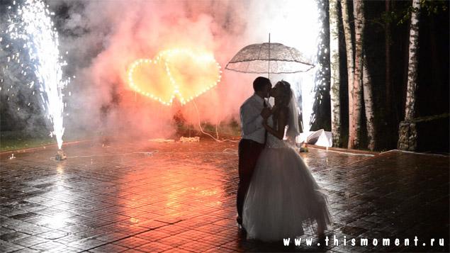 Файершоу на свадьбе