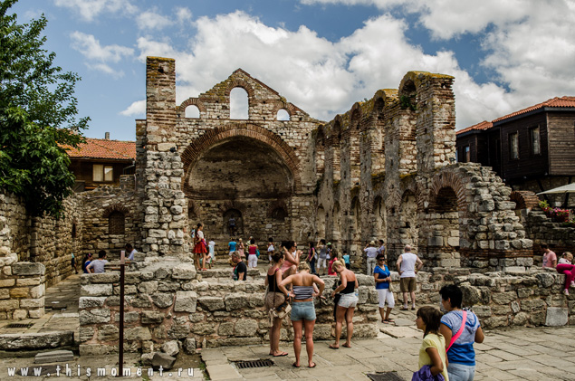 болгария несебр старый город фото