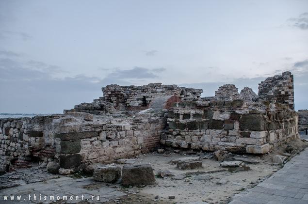 Старый город на рассвете