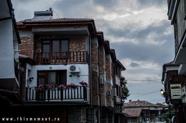 Крыши на рассвете
