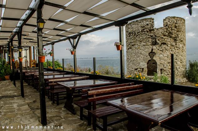 Ресторан и башня