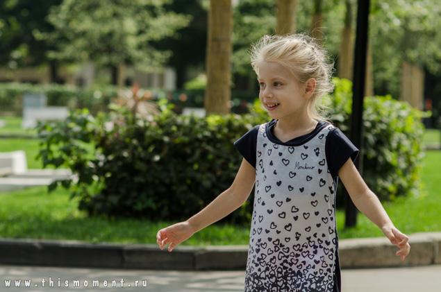 Алина в парке