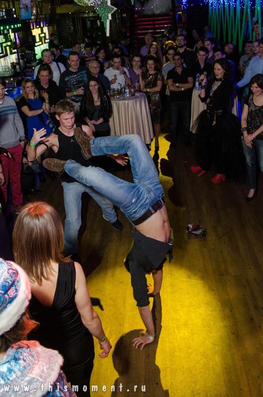 Сальто на танцполе
