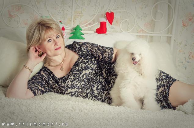 Портрет с собакой