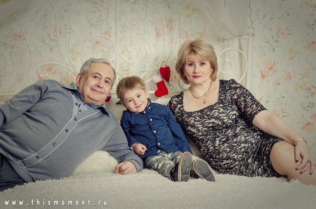 Вместе с внуком