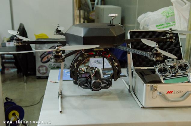 Геликоптер с камерой